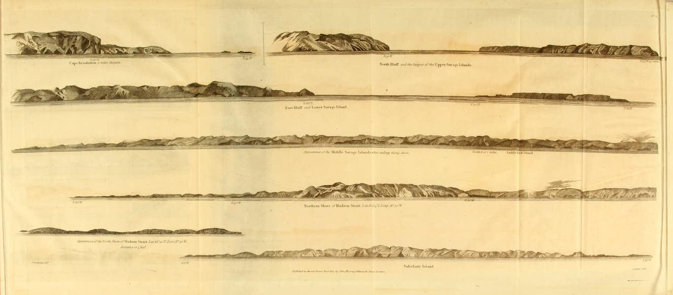 Appearances of Lands, No. 1.
