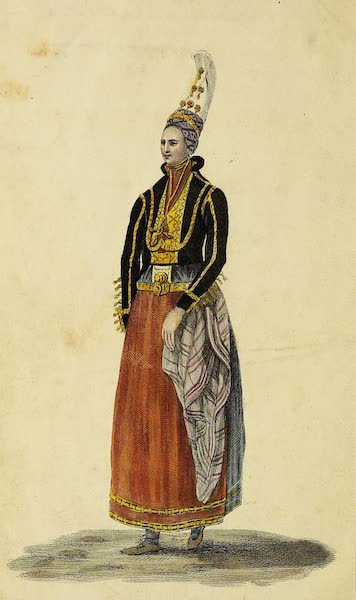 Journal of a Tour in Iceland in the Summer of 1809 - An Icelandic Lady in Her Bridal Dress (1811)