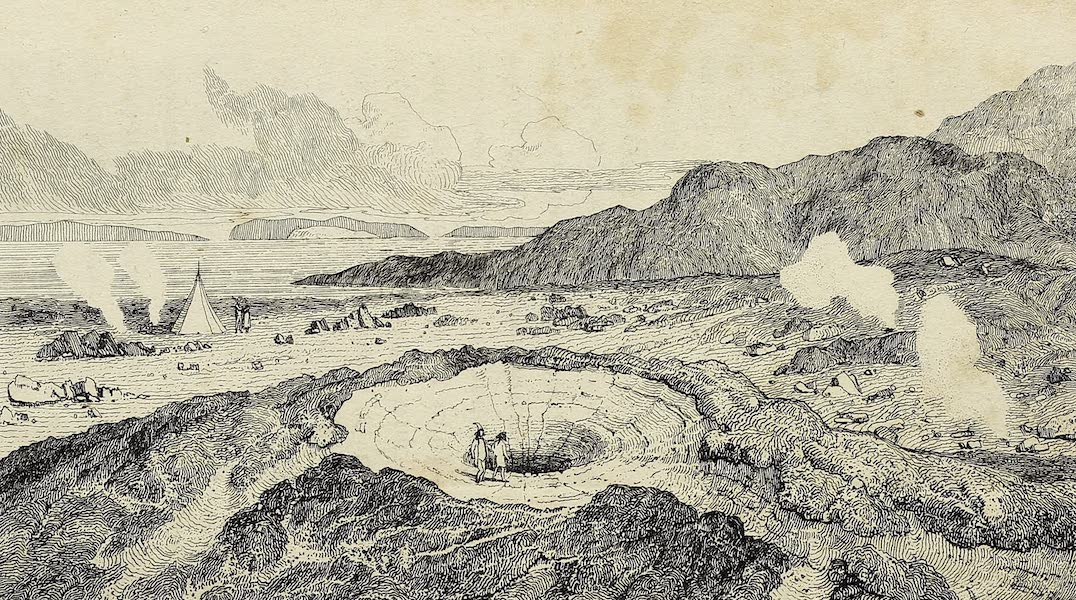 Journal of a Tour in Iceland in the Summer of 1809 - View of the Geyser When Empty, Immediately After an Eruption (1811)