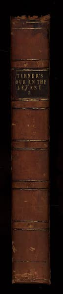 Journal of a Tour in the Levant Vol. 1 - Spine (1820)