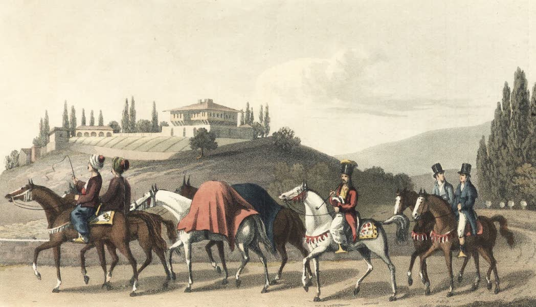 Journal of a Tour in the Levant Vol. 1 - Mode of Travelling in Turkey (1820)
