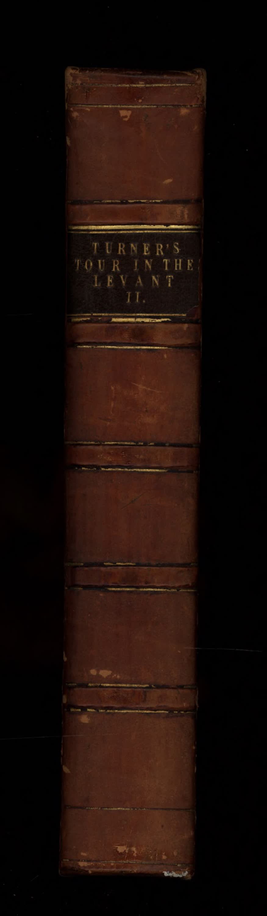 Journal of a Tour in the Levant Vol. 2 - Spine (1820)
