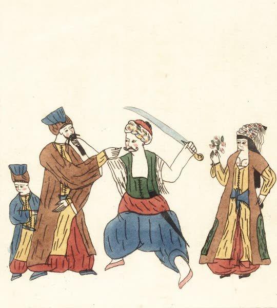 Journal of a Tour in the Levant Vol. 2 - Speciments of Turkish Drawings [II] (1820)