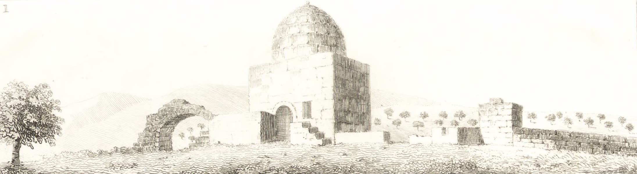 Journal of a Tour in the Levant Vol. 2 - Tomb of Rachel (1820)