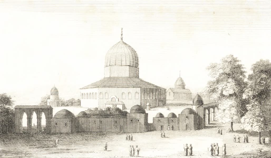 Journal of a Tour in the Levant Vol. 2 - Mosque of Omar in Jerusalem (1820)