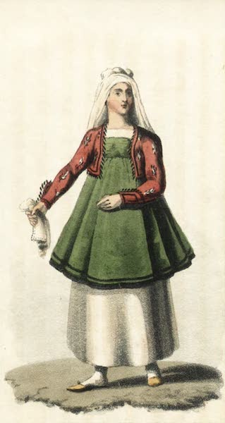Journal of a Tour in the Levant Vol. 2 - Woman of Scio (1820)