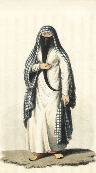Journal of a Tour in the Levant Vol. 2 - Arab Woman of Cairo (1820)