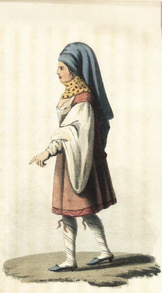 Journal of a Tour in the Levant Vol. 2 - Woman of Mycone (1820)