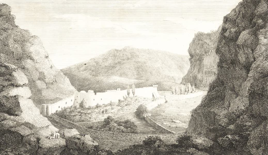 Journal of a Tour in the Levant Vol. 2 - Convent of Mount Sinai (1820)