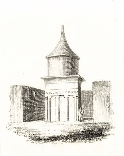 Journal of a Tour in the Levant Vol. 2 - Tomb of Absalom (1820)
