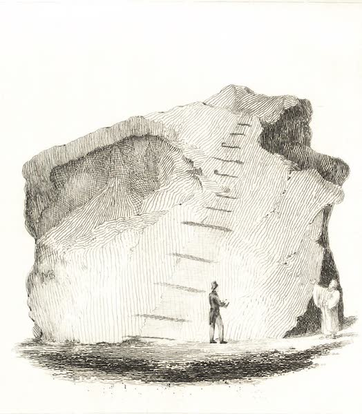 Journal of a Tour in the Levant Vol. 2 - Stone Whence Moses Struck Water (1820)