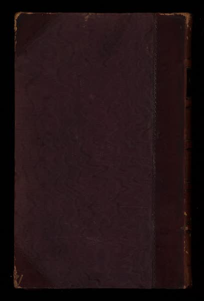 Journal of a Tour in the Levant Vol. 2 - Back Cover (1820)