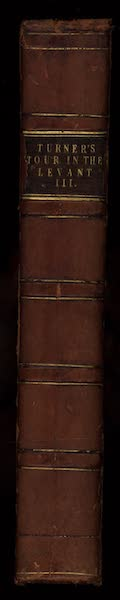 Journal of a Tour in the Levant Vol. 3 - Spine (1820)