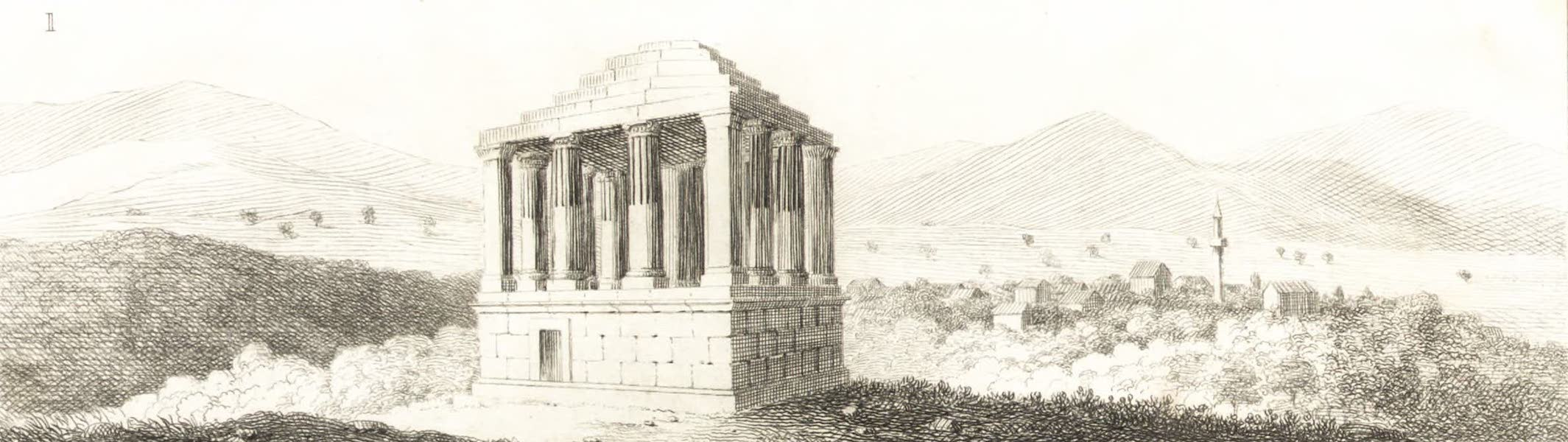 Journal of a Tour in the Levant Vol. 3 - Tomb at Melasso (1820)
