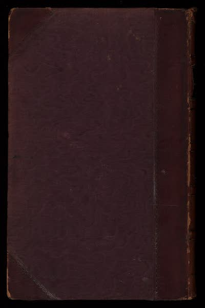 Journal of a Tour in the Levant Vol. 3 - Back Cover (1820)