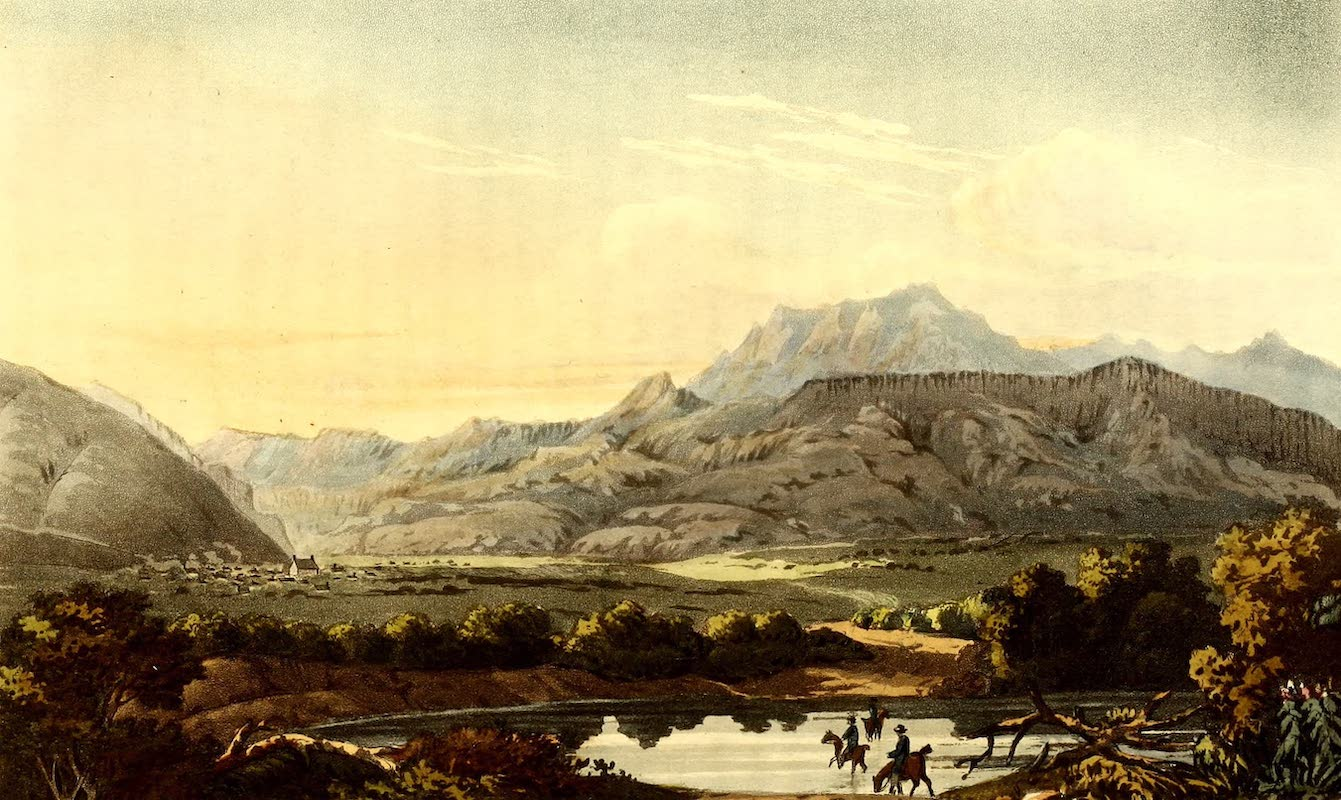 Journal of a Visit to South Africa - Approach to Gnadenthal, crossing the River Sonderend (1818)