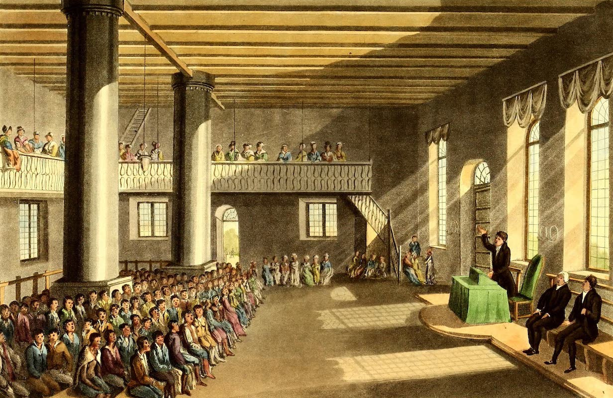 Journal of a Visit to South Africa - Interior of the Church at Gnadenthal (1818)