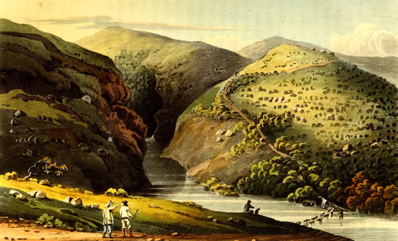 Journal of a Visit to South Africa - Kayman's gat. Plettenberg Bay (1818)