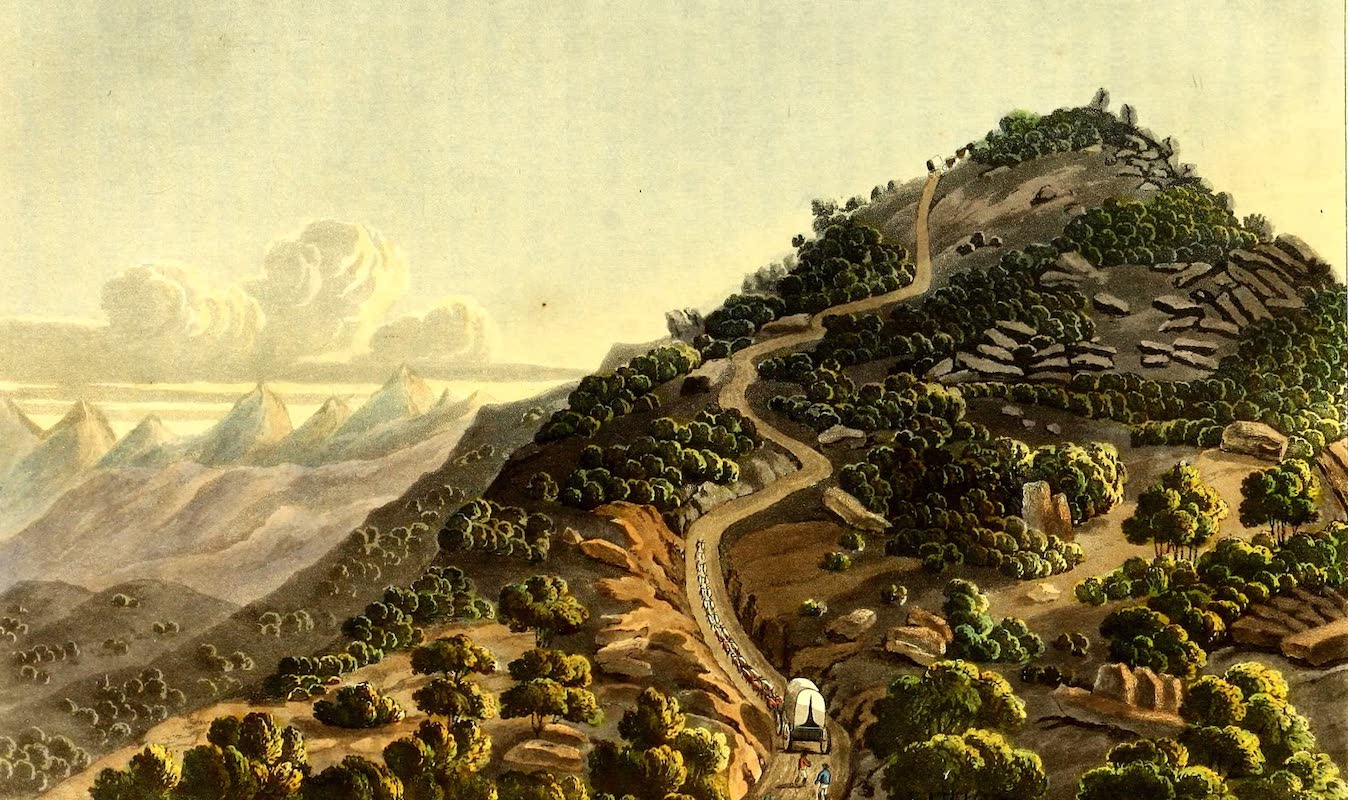 Journal of a Visit to South Africa - The Paerdekop (1818)