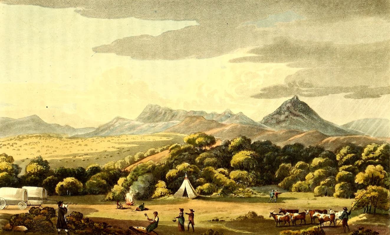 Journal of a Visit to South Africa - Encampment at Essenbosch, in the District of Uitenhagen (1818)
