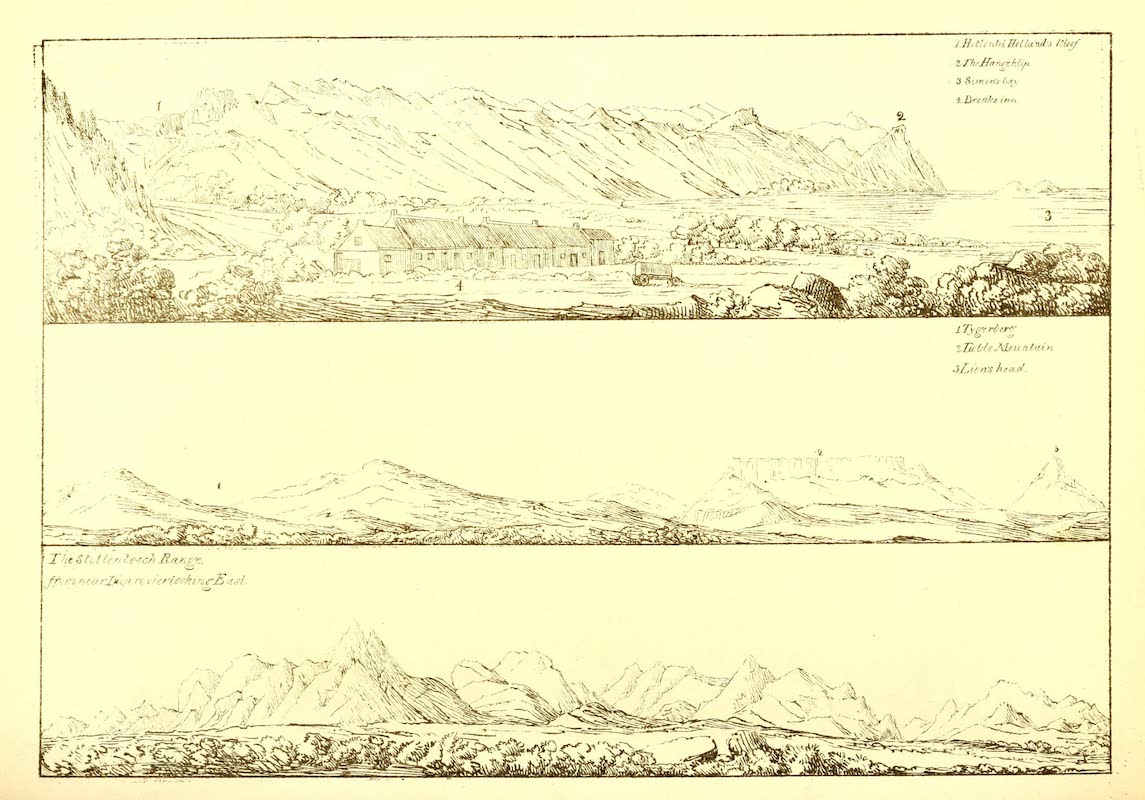 Journal of a Visit to South Africa - Miscellaneous Views (1818)