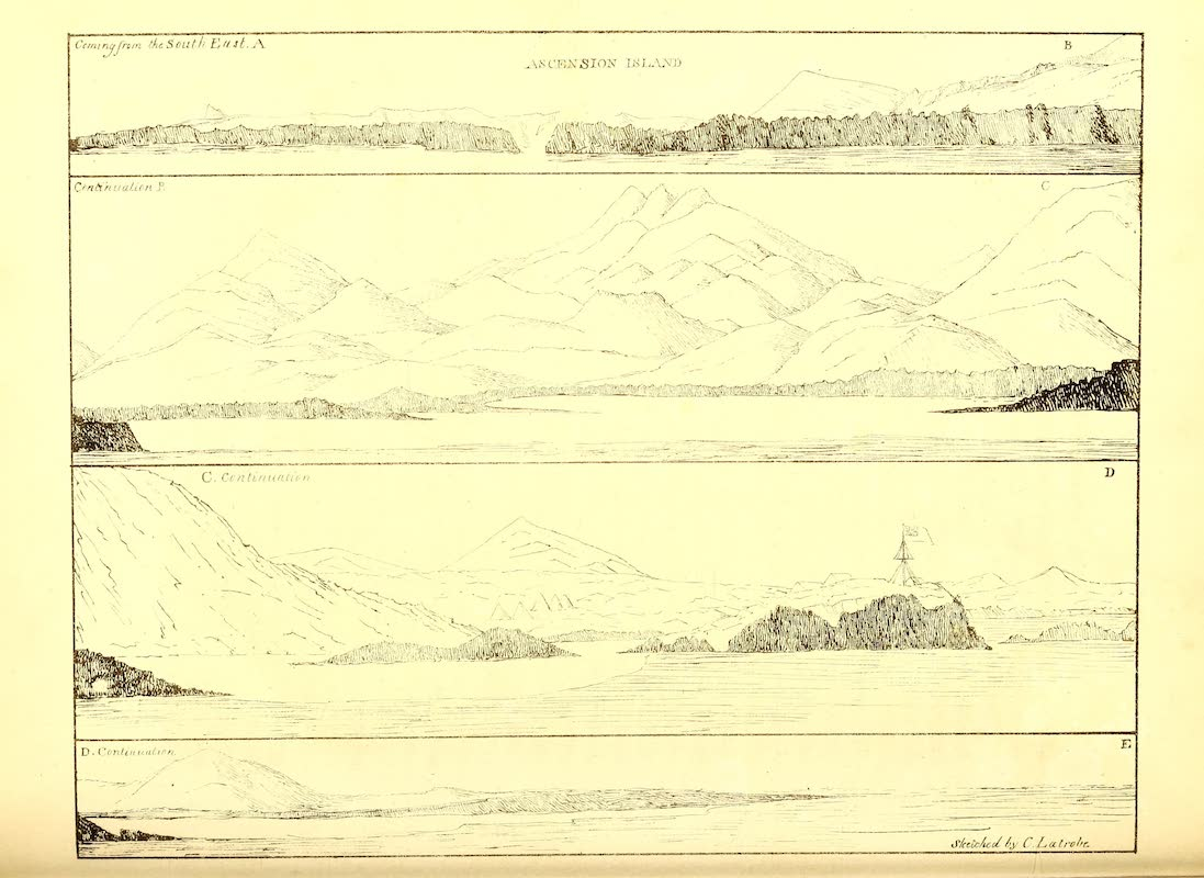 Journal of a Visit to South Africa - Ascension Island and Other Views (1818)