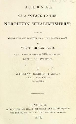 English - Journal of a Voyage to the Northern Whale-Fishery