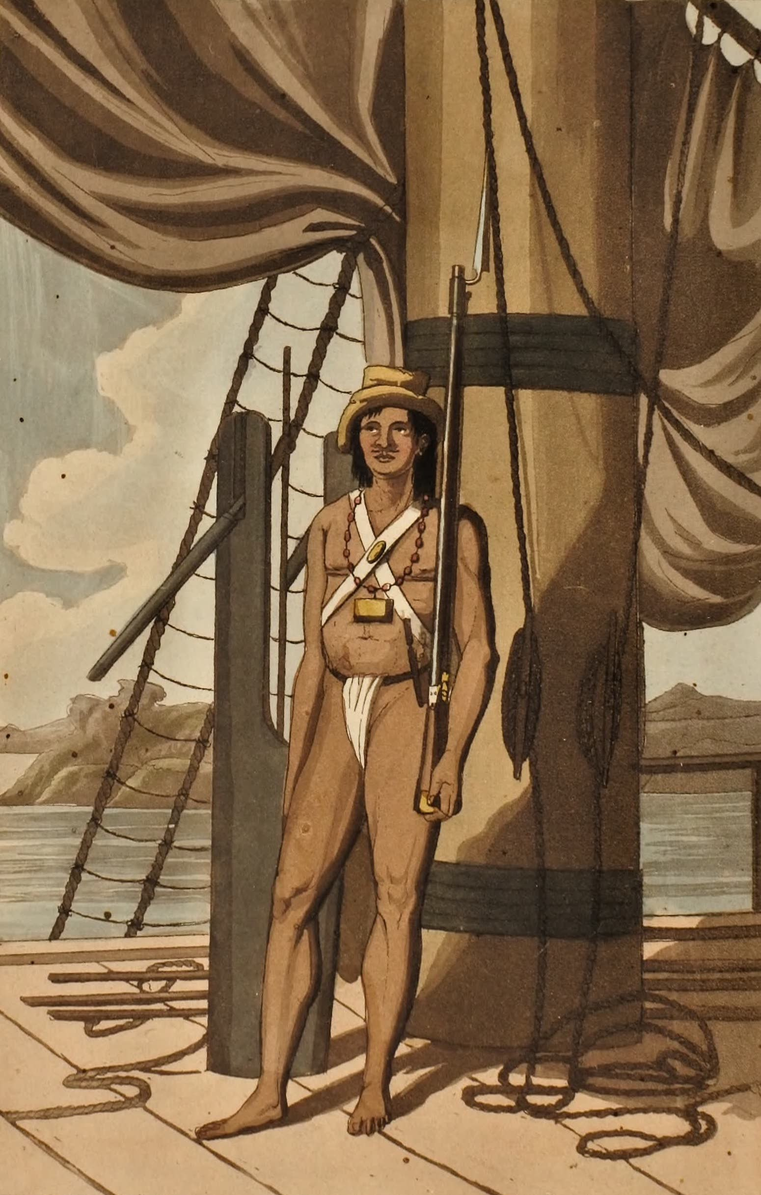 Journal of an Expedition 1400 miles up the Orinoco - A Native Soldier (1822)