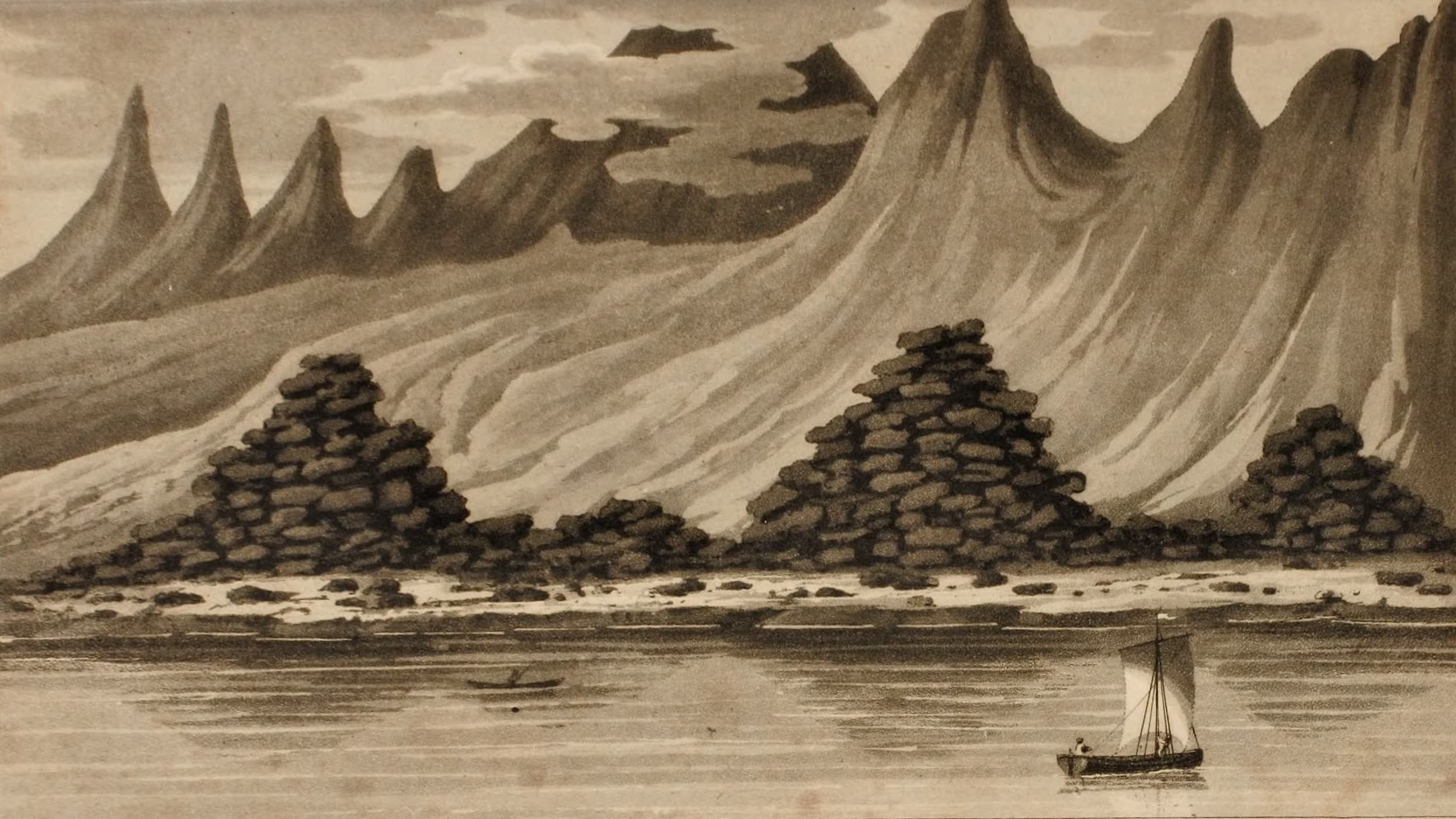 Journal of an Expedition 1400 miles up the Orinoco - Bank of the Orinoco (1822)