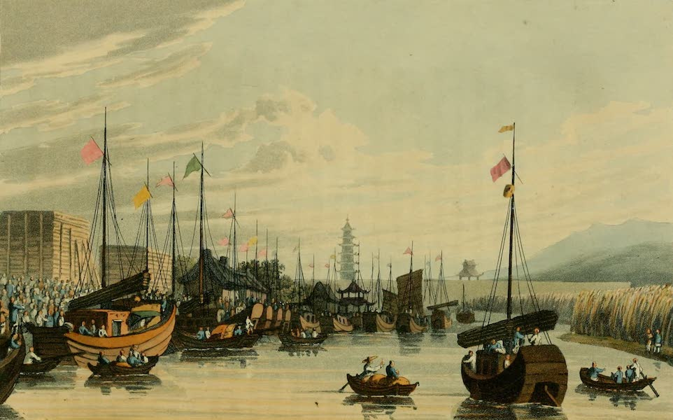 Journal of the Proceedings of the Late Embassy to China - Anchorage at Tong-Chow (1817)