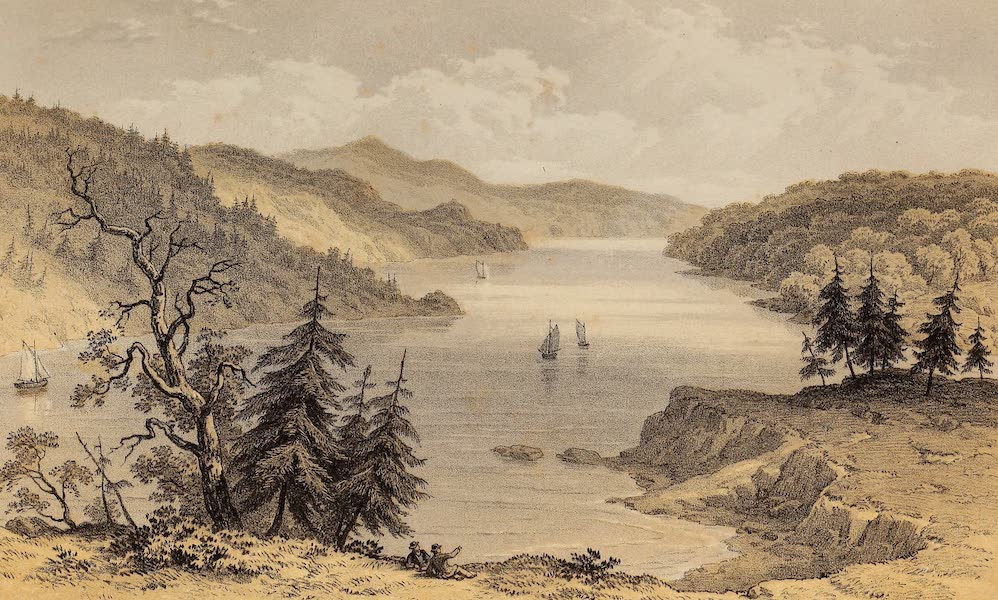 Journal of the Progress of H.R.H. the Prince of Wales - Point Pleasant - Halifax Harbour (1860)