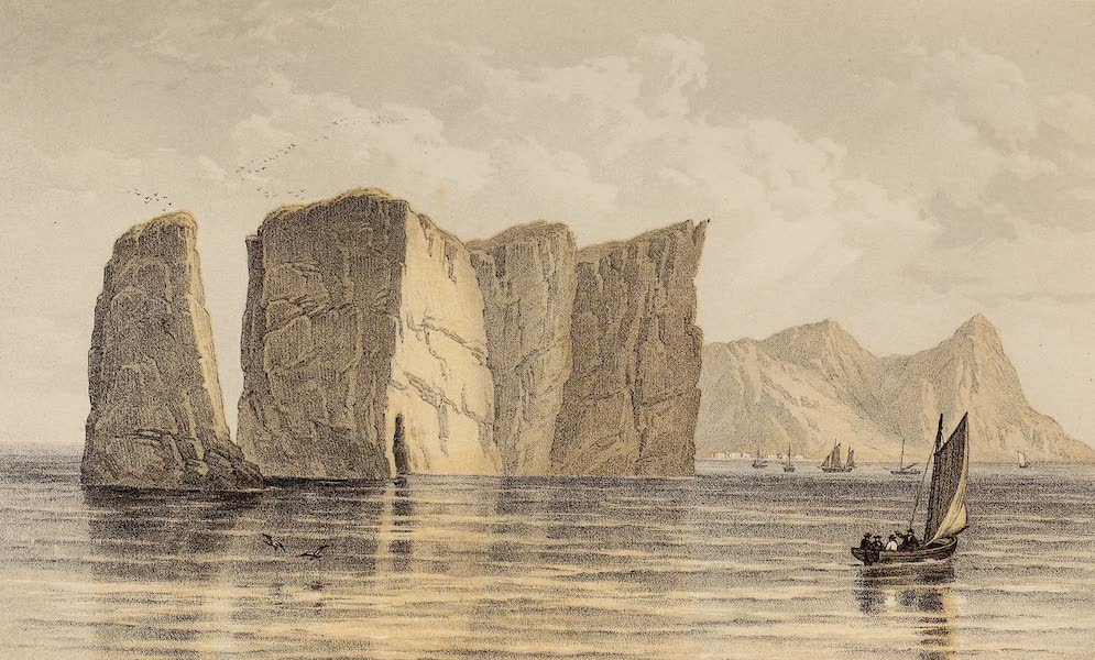 Journal of the Progress of H.R.H. the Prince of Wales - Perce Rock (1860)