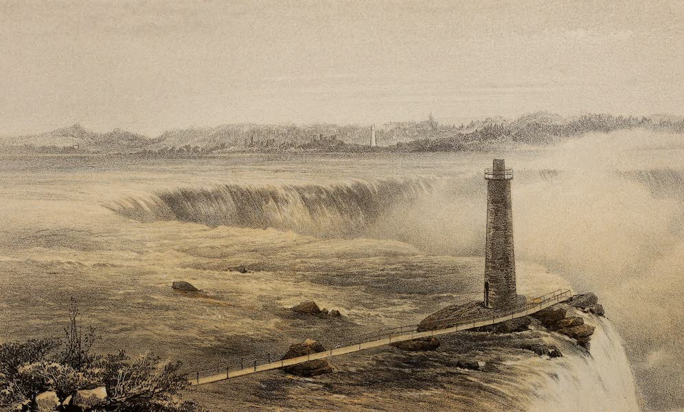 Journal of the Progress of H.R.H. the Prince of Wales - Niagara Falls (from Goat Island) (1860)