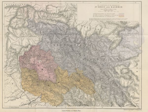Journals Kept in Hyderabad, Kashmir, Sikkim, and Nepal Vol. 1 - The Territories of the Maharaja of Jummoo and Kashmir (1887)