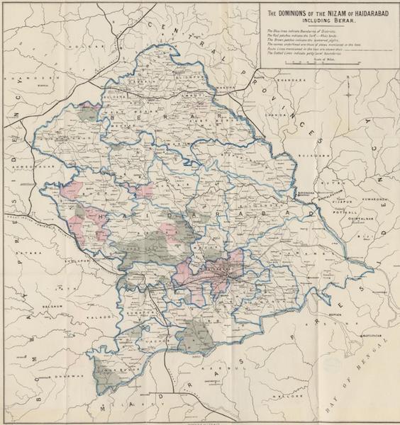 The Dominions of the Nizam of Haidarabad including Berar