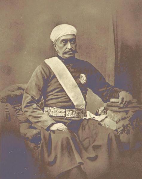 The Late Nawab Mir Turab