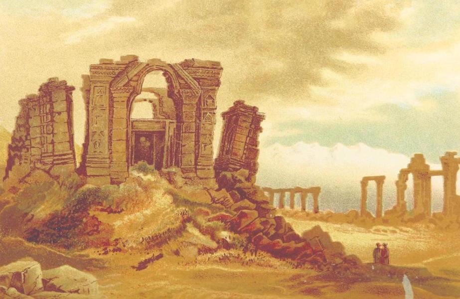 Journals Kept in Hyderabad, Kashmir, Sikkim, and Nepal Vol. 2 - Ruins of Martand near Islamabad (1887)