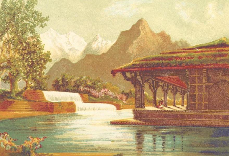 Journals Kept in Hyderabad, Kashmir, Sikkim, and Nepal Vol. 2 - The Shalmar Gardens near Srinagar (1887)