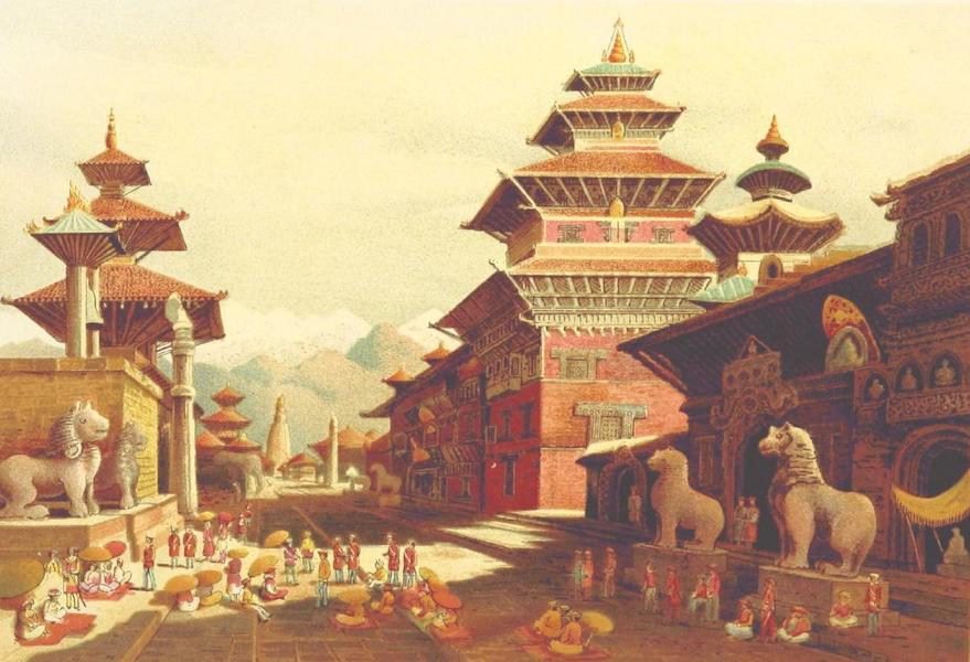 Journals Kept in Hyderabad, Kashmir, Sikkim, and Nepal Vol. 2 - The Darbar at Patan (1887)