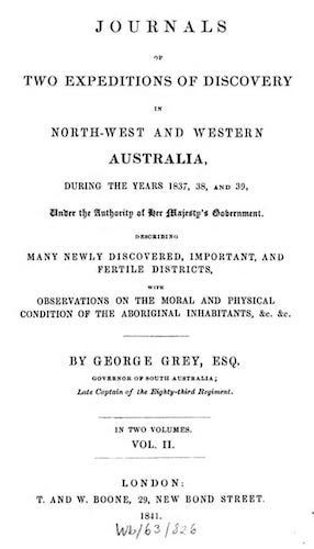 English - Journals of Two Expeditions of Discovery in Australia Vol. 2