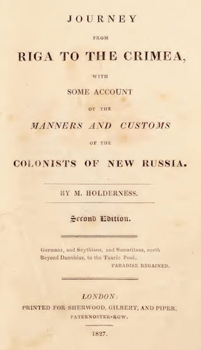 English - Journey from Riga to the Crimea