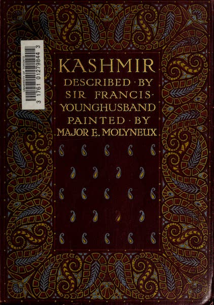 Kashmir, Painted and Described - Front Cover (1911)
