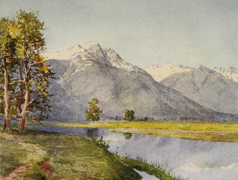 Kashmir, Painted and Described - Mouth of the Sind Valley (1911)