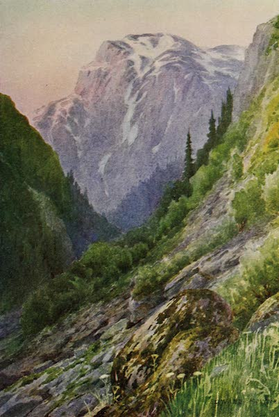 Kashmir, Painted and Described - Dawn in the Nulla (1911)