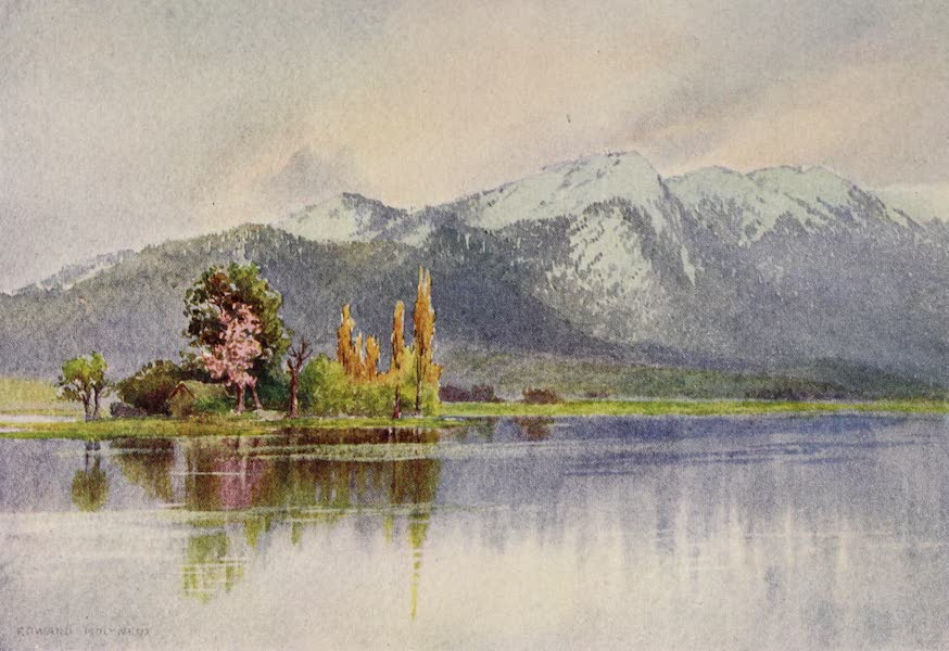 Kashmir, Painted and Described - The Kajnag from Sopur, Early Spring (1911)