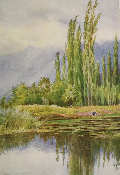 Kashmir, Painted and Described - The Lull before the Storm, Dal Lake (1911)