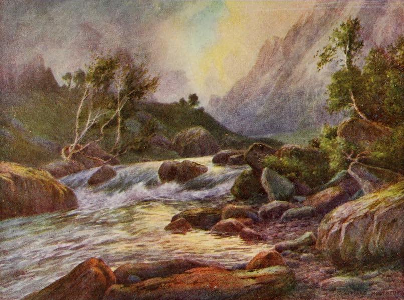 Kashmir, Painted and Described - Above Lidarwat, Lidar Valley (1911)