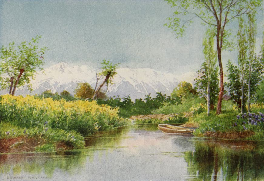 Kashmir, Painted and Described - On the Dal Lake in Spring (1911)