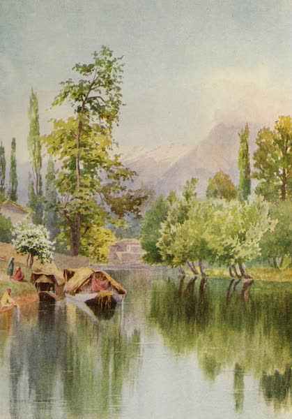 Kashmir, Painted and Described - Entrance to the Mar Canal (1911)