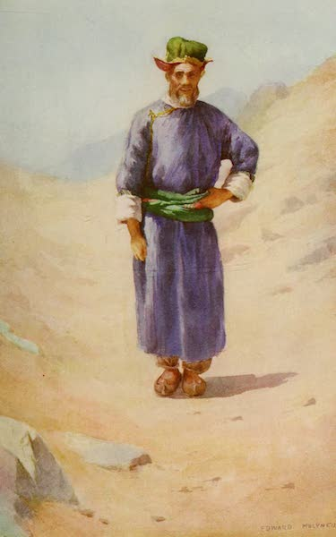 Kashmir, Painted and Described - A Ladaki in Summer Costume (1911)